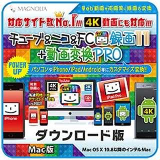 チューブ&ニコ&FC録画11 コンプリート [Mac用] 【ダウンロード版】