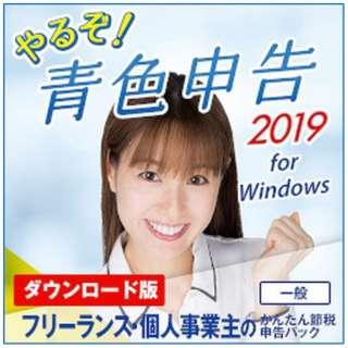 やるぞ!青色申告2019 フリーランスのかんたん節税申告パック [Windows用] 【ダウンロード版】