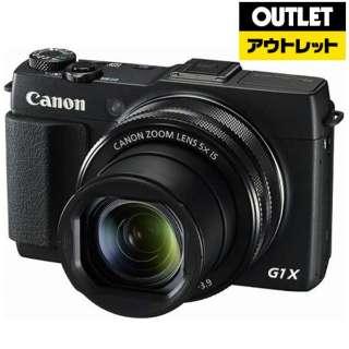 【アウトレット品】 コンパクトデジタルカメラ PowerShot(パワーショット) PSG1XMARKII 【外装不良品】