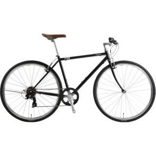 700×28C型 クロスバイク クラシティ-A 480mm(ブラック/7段変速)NE-19-002【適応身長:160~175cm】 【組立商品につき返品不可】