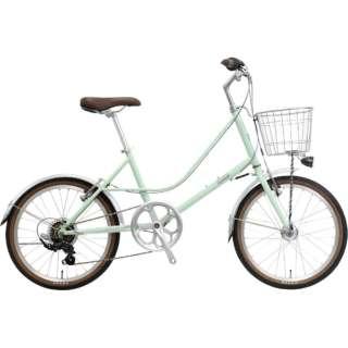 20型 自転車 リフモ-A(マットグリーン/6段変速)NE-19-016 【組立商品につき返品不可】