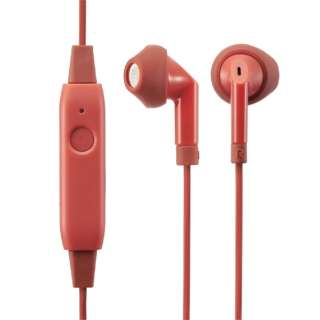 16cf55003e6 bluetooth Earphone inner ear type red LBT-F10IXRD [remote-control microphone -adaptive/wireless (right and left cord)/Bluetooth]