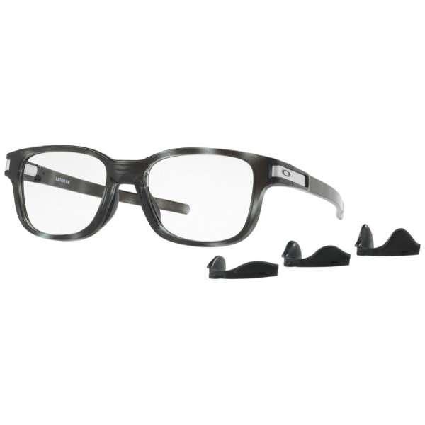 【度付き】LATCH SS メガネセット(ポリッシュドグレートータス)OX8114-0352[超薄型/屈折率1.67/非球面]