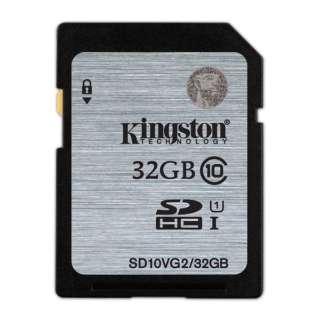 32GB・Class10 UHS-I対応SDHCカード SD10VG2/32GB