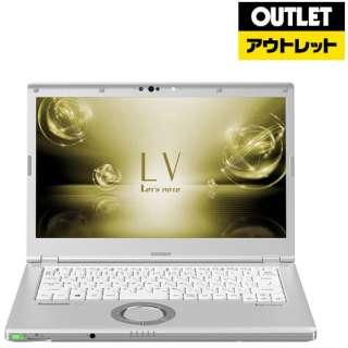 【アウトレット品】 14.0型ノートPC [ Win10 Pro・Core i5・SSD 256GB・メモリ 8GB] レッツノート CFLV7RDCVS 【数量限定品】