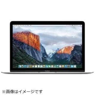 MacBook 12インチ USキーボードモデル[2017年/SSD 512GB/メモリ 8GB/1.3GHzデュアルコアCore i5]ゴールド MNYL2JA/A