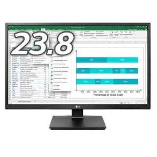 23.8型ワイド 液晶ディスプレイ 24BK550Y-B ブラック [ワイド /フルHD(1920×1080)]