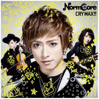 NormCore/ CRY MAX!! 通常盤 【CD】