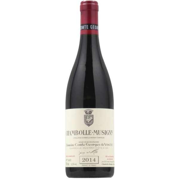 ドメーヌ・コント・ジョルジュ・ド・ヴォギュエ シャンボール・ミュジニィ 2014 750ml【赤ワイン】