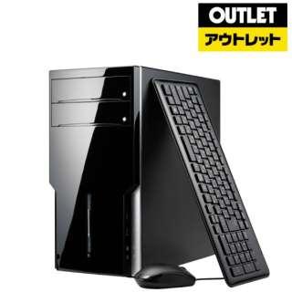 【アウトレット品】 ゲーミングデスクトップPC [Core i7・HDD 1TB・SSD 120GB・メモリ 8GB・GTX1060] SPRI87M8G16T 【数量限定品】