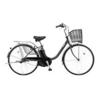 24型 電動アシスト自転車 ビビ・YX(プラズマグレー/内装3段変速) BE-ELYX432N2【2019年モデル】 【組立商品につき返品不可】