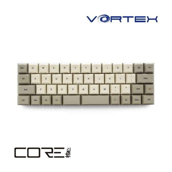 VTG47SRDBEG キーボード 静音赤軸 COREシリーズ [USB /有線]