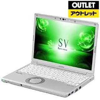 【アウトレット品】 12.1型ノートPC [Win10 Pro・Core i5・SSD 256GB・メモリ 8GB・LTE対応] CF-SV7RFCVS 【数量限定品】