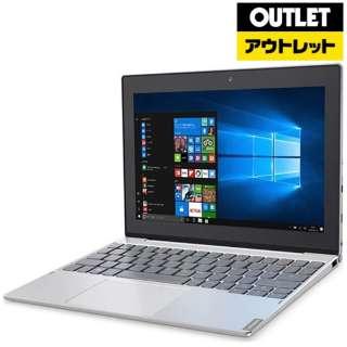 【アウトレット品】 10.1型ノートパソコン [Win10 HOME・Atom・eMMC 64GB・メモリ 4GB] Ideapad (アイデアパッド )MIIX 320  80XF0007JP プラチナシルバー 【生産完了品】