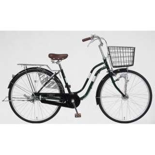 26型 自転車 シエスタ 26SBS(ディープグリーン/シングルシフト)T6SBS #237 【組立商品につき返品不可】