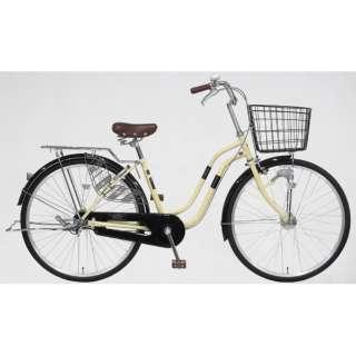 26型 自転車 シエスタ 26SBS(ライトベージュ/シングルシフト)T6SBS #751 【組立商品につき返品不可】