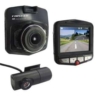 FT-DR120WE 前・後方2カメラ同時録画ドライブレコーダー FIRSTEC FT-DR120WE FIRSTEC [一体型 /HD(100万画素) /前後カメラ対応]