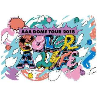 AAA/ AAA DOME TOUR 2018 COLOR A LIFE 通常盤 【DVD】