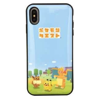 ポケモンクエスト IIII fit iPhoneXs Max対応ケース みんなで探検!