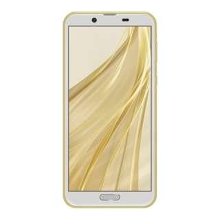 【防水防塵・おサイフケータイ】AQUOS sense2 アッシュイエロー「SH-M08」Snapdragon 450 5.5型 IGZO液晶 メモリ/ストレージ:3GB/32GB nanoSIMx1 ドコモ/au対応 SIMフリースマートフォン
