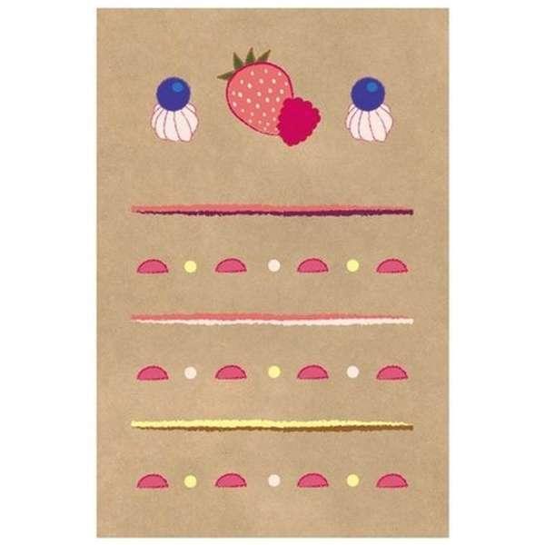 世界のかわいいミニレター8ケーキ