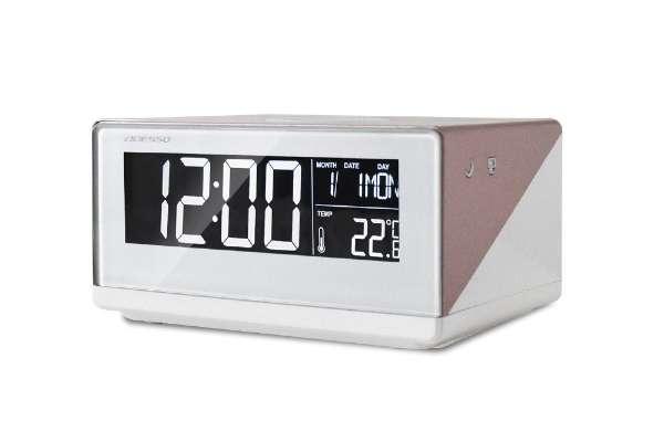 目覚まし時計おすすめ18選 アデッソ「ワイヤレスチャージングクロック」QA-02