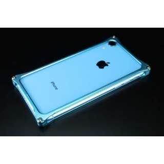 ソリッドバンパー for iPhoneXR ライトブルー GI-424LB