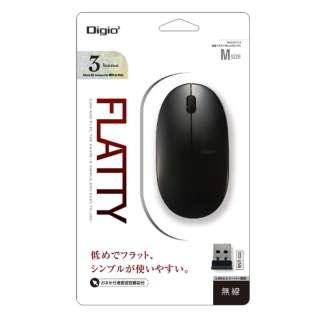 MUS-RKT153BK マウス Digio2 ブラック [BlueLED /3ボタン /USB /無線(ワイヤレス)]