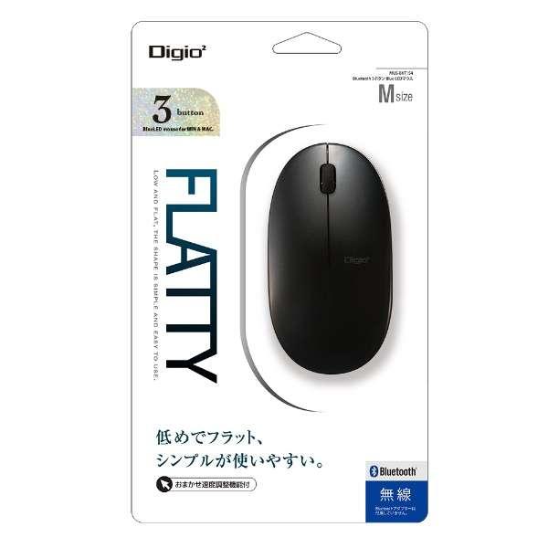 MUS-BKT154BK マウス Digio2 ブラック [BlueLED /3ボタン /Bluetooth /無線(ワイヤレス)]