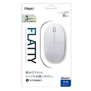MUS-BKT154W マウス Digio2 ホワイト [BlueLED /3ボタン /Bluetooth /無線(ワイヤレス)]