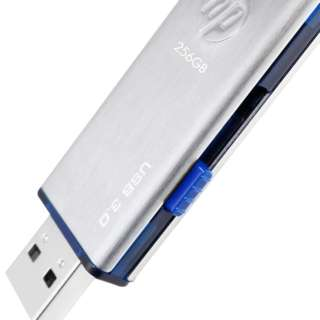 HPFD730W-512 USBメモリ シルバー/ブルー [512GB /USB3.0 /USB TypeA /スライド式]