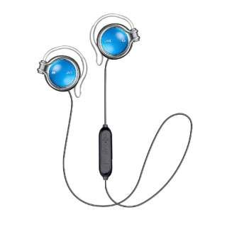 ブルートゥースイヤホン 耳かけ型 ラピスブルー HA-AL102BT-A [リモコン・マイク対応 /ワイヤレス(左右コード) /Bluetooth]