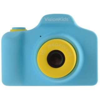 VisionKids HappiCAMU ハピカム 子供用カメラ ブルー
