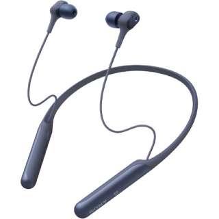 ブルートゥースイヤホン ノイズキャンセリング WI-C600NLM [マイク対応 /ワイヤレス(ネックバンド) /Bluetooth /ノイズキャンセリング対応]