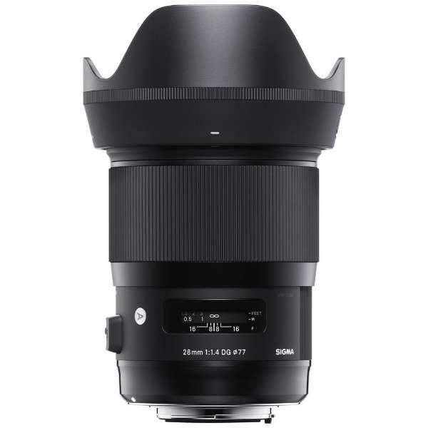 カメラレンズ 28mm F1.4 DG HSM Art【キヤノンEFマウント】 [キヤノンEF・EF-S /単焦点レンズ]
