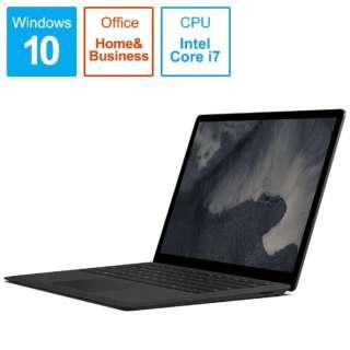 Surface Laptop 2[13.5型/SSD:256GB /メモリ:8GB /IntelCore i7/ブラック/2019年1月モデル]LQQ-00053 ノートパソコン サーフェスラップトップ2