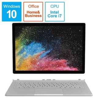 SurfaceBook2 [13.5型 /SSD 512GB /メモリ 16GB /Intel Core i7 /シルバー/2019年] HNL-00024 ノートパソコン サーフェスブック2