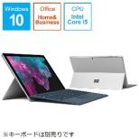 Surface Pro 6[12.3型 /SSD:128GB/メモリ:8GB /IntelCore i5/シルバー/2019年1月モデル]LGP-00017 Windowsタブレット サーフェスプロ6