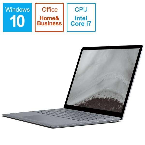Surface Laptop 2[13.5型/SSD:256GB /メモリ:8GB /IntelCore i7/プラチナ/2019年1月モデル]LQQ-00055 ノートパソコン サーフェスラップトップ2