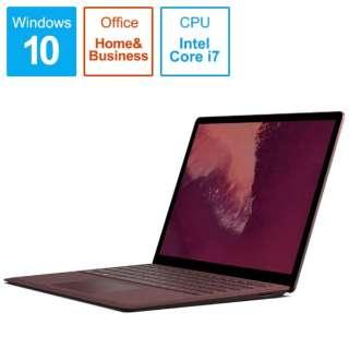 Surface Laptop 2[13.5型/SSD:512GB /メモリ:16GB/IntelCore i7/バーガンディ /2019年1月モデル]LQS-00057 ノートパソコン サーフェスラップトップ2