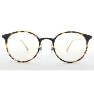 メガネ eye wear AT-WE-07(50)(DML) デミブラウンライト [度無し /薄型 /屈折率1.60 /非球面 /PCレンズ]