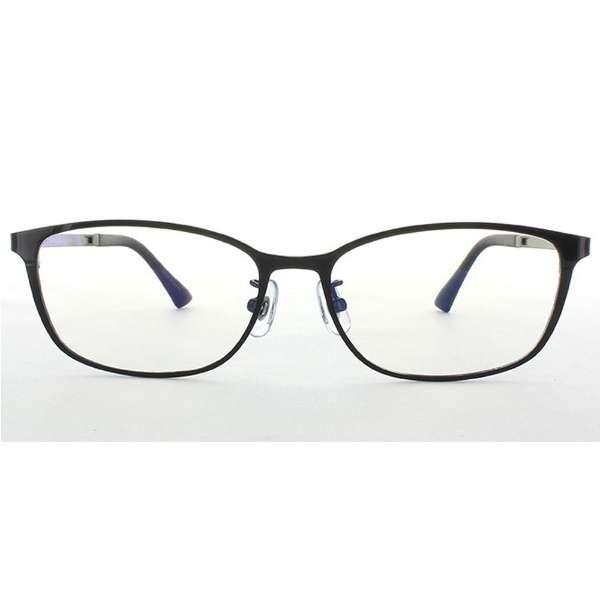 メガネ eye wear AT-WE-12(53)(BK) ブラック [度無し /薄型 /屈折率1.60 /非球面 /PCレンズ]