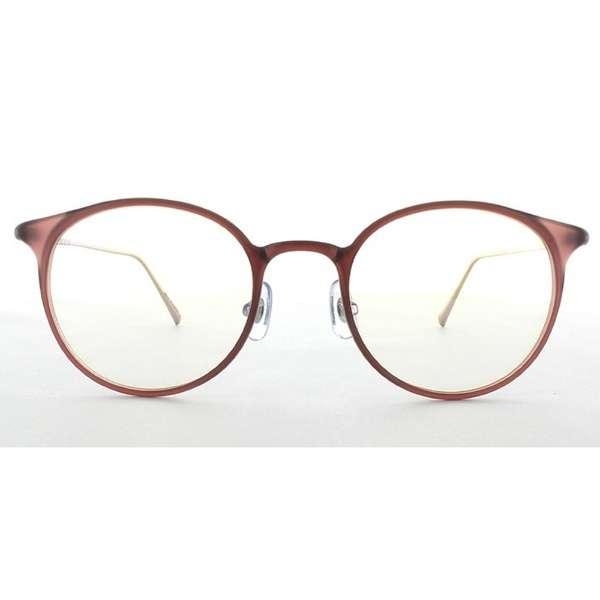 メガネ eye wear AT-WE-07(50)(MPK) マットピンク [度無し /薄型 /屈折率1.60 /非球面 /PCレンズ]