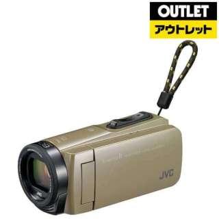 【アウトレット品】 ビデオカメラ EverioR(エブリオR)[フルハイビジョン対応 /防水+防塵+耐衝撃] GZ-RX670  サンドベージュ 【生産完了品】