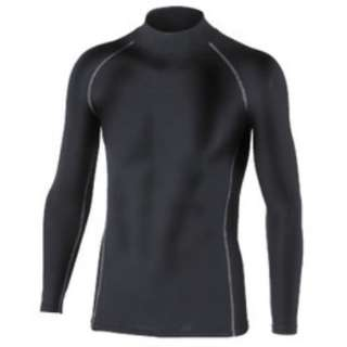 メンズ インナーシャツ BTパワーストレッチ ハイネックシャツ(Mサイズ/ブラック)JW-170