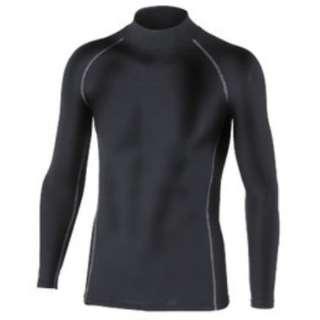 メンズ インナーシャツ BTパワーストレッチ ハイネックシャツ(Lサイズ/ブラック)JW-170