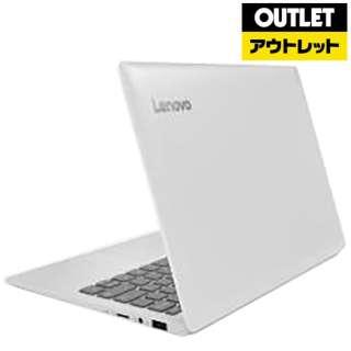【アウトレット品】 11.6型ノートPC[ Win10 Home・Celeron・eMMC 64GB・メモリ 4GB・Office付] ideapad 120S 81A4004NJP ブリザードホワイト 【数量限定品】