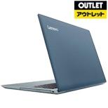 【アウトレット品】 15.6型ノートPC[ Win10 Home・Core i5・HDD 500GB・メモリ 4GB・Office付] ideapad 320 80XL02M7JPデニムブルー 【数量限定品】
