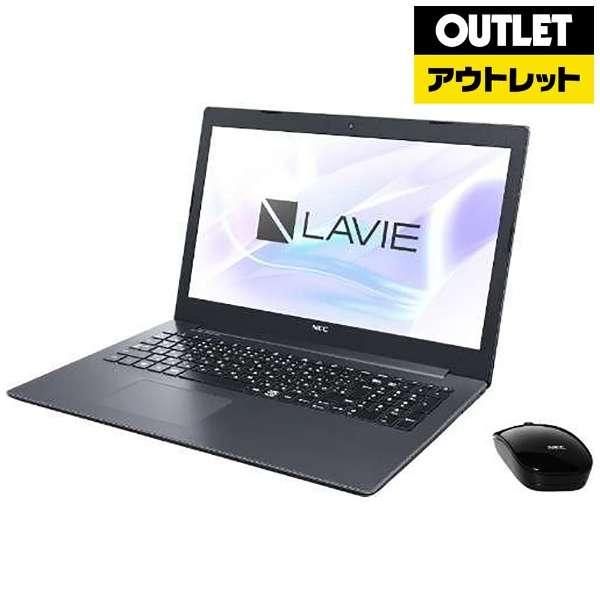 【アウトレット品】 15.6型ノートPC[ Win10 Home・Core i3・HDD 1TB・メモリ 4GB・Office付] LAVIE Note Standard PC-NS300KAB カームブラック 【外装不良品】