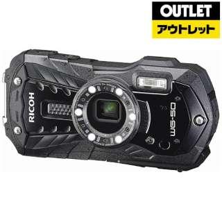 【アウトレット品】 コンパクトデジタルカメラ [防水+防塵+耐衝撃] WG-50 ブラック 【生産完了品】